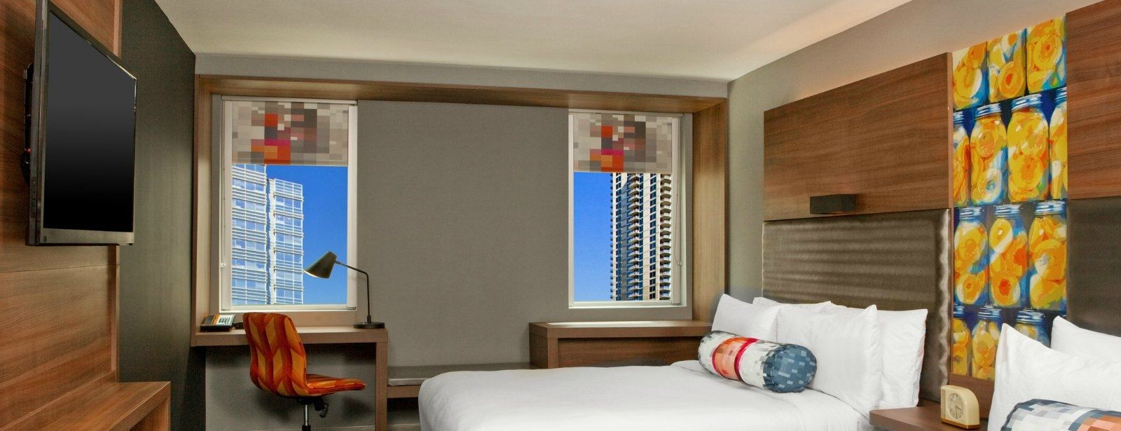 Downtown Atlanta Accommodations - Aloft Double Queen Room